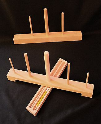 Handmade Wooden Recorder Stand In Solid Beech