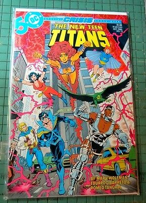 The New Teen Titans #13  DC Comics Copper Age Lot C498