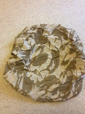 British Army Issue Desert Rucksack Cover, size Small, used