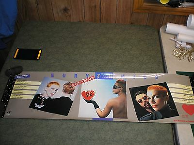 Vintage Eurythmics Sweet Dreams 1984 Promo Poster Vg 39.5' x 11.5""