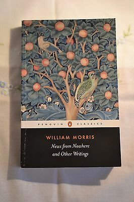 William Morris. News from nowhere and other writings.ISBN:9780140433302 English.