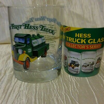 The First HESS Truck Truck Drinking Glass