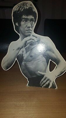 bruce lee stand up display enter the dragon