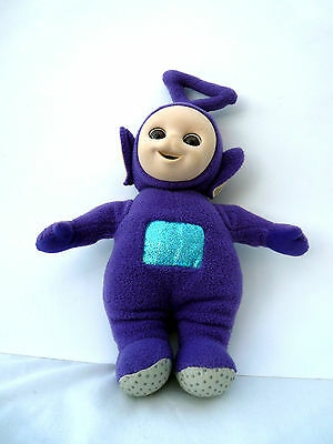 Vintage Soft Toy Tinky Winky 12' Tall Telletubbies