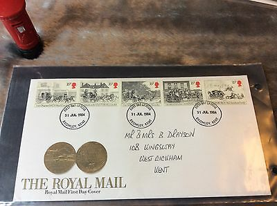 GB First Day cover - 1984 - Royal Mail Bromley