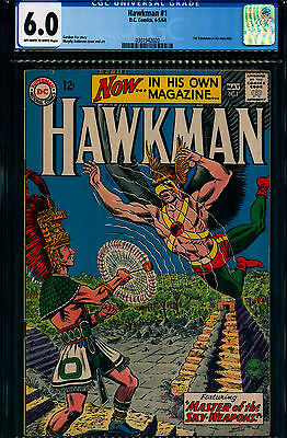 Hawkman #1 (Apr-May 1964, DC) CGC 6.0 Beautiful for the grade!