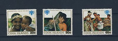 Cook Islands 1979 Int'l Year of the Child Full Set MH SG 649-651