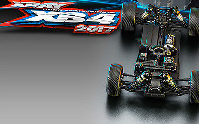 NEW Xray Xb4 - 2017 Specs - 4Wd (Xy360004) from RC Hobby Land