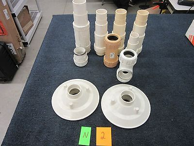10 Pvc Flo Control Compression Flange Tee Expansion Plumbing Pipe New