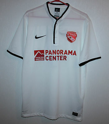 FC Thun swiss away match worn or issue shirt #7 Zuffi Nike Europa League 13/14