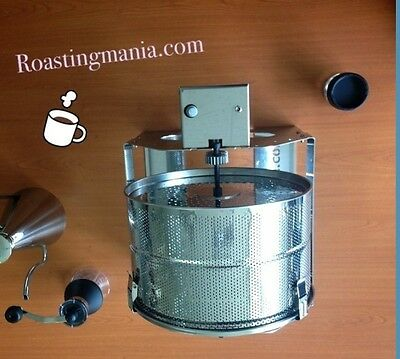 Roasting Mania Coffee Bean Roaster RM 102 All Stainless Frame For Cafe Max 1500g