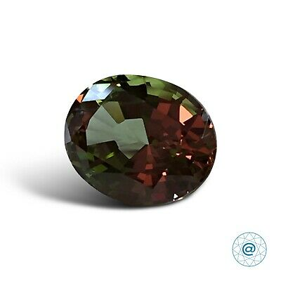 Diaspore #NZ-4. Oval 10x8mm. 2.75 Ct. Created Gemstone Monosital. US@GEMS