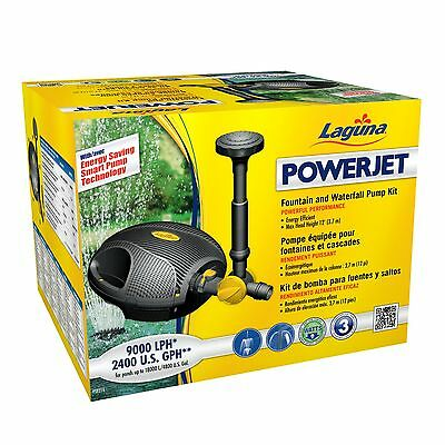 Laguna PowerJet 600 Fountain/Waterfall Pump Kit for Ponds Up to 1200-Gallon