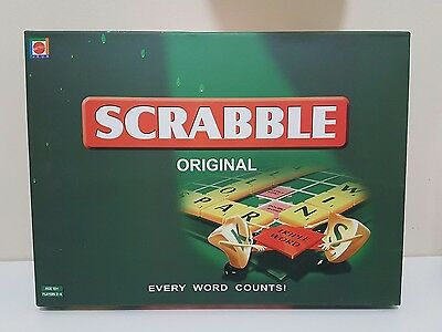 NEW Original Scrabble Board Game! letters tiles kids family junior