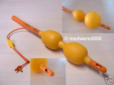 Double Balloon enema complete system, enema bag with two metal eyelet !