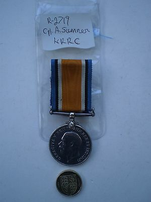 WW 1 British War Medal Awarded to