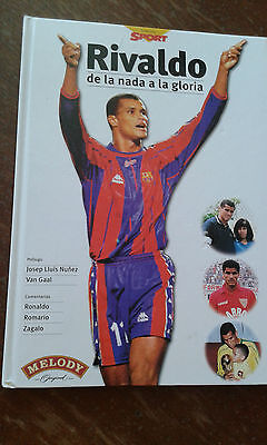 RIVALDO Libro Book Photos Futbol football vintage