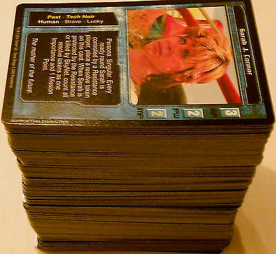The Terminator Ccg Tcg - Near Complete Set 346/348 - Precedence 2000