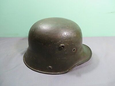 WW1 WWI German M16 TJ66 Steel Helmet Shell No Liner Vintage Combat Army