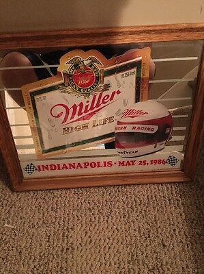 Vintage Miller High Life Mirror Beer Sign