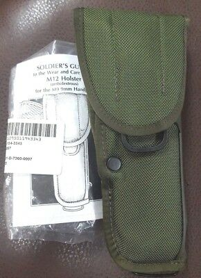 "NEW U.S. Military Issue Universal M12 Holster "" Hill Country/Bianchi Holster """