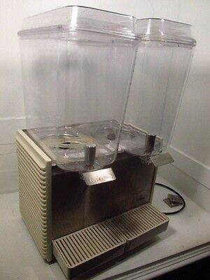 Crathco - D25-4 - Refrigerated Beverage Dispenser Drink Bubbler Classic