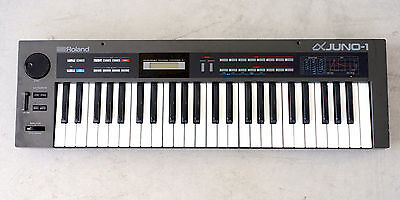 Roland Alpha Juno 1 Vintage Rare Polyphonic Synthesizer Keyboard Synth Juno-1