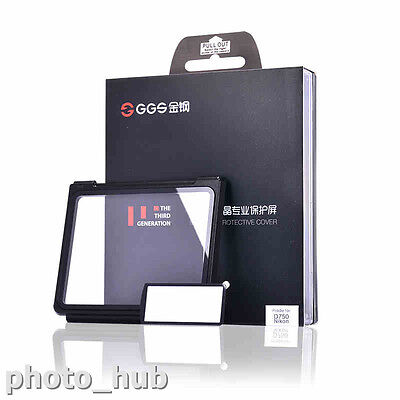 GGS III Professional Tempered Glass LCD Screen Protector for Nikon D750 Camera