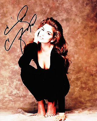 Super Model Cindy Crawford Autographed 8x10 Photo (Reproduction) 1
