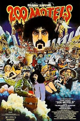 Frank Zappa's 200 Motels POSTER Mothers of Invention