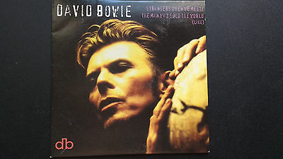 DAVID BOWIE Strangers When We Meet / The Man Who Sold The World (Live) cd1995