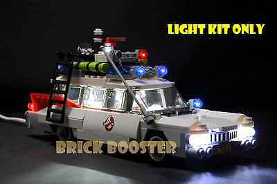 USB Powered LED Light Kit for Lego 21108 Ghostbusters Ecto-1