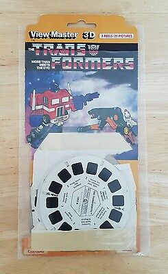 View-Master 3D 'the Transformers' G1 3 Reels-21 Pictures Nr.25 Hasbro 1985