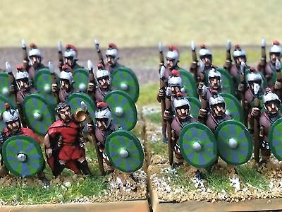 15mm DPS painted Ancient DBMM FOG ADLG Impetvus West Late Roman Legionary T139