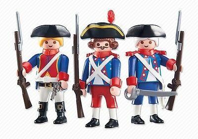 playmobil Soldier royal Knight new sealed 6436 figures King Leader Redcoats Lot