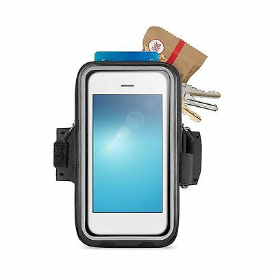 """Belkin Armband For Iphone 6 6S Storage For 5"""" Smartphones Black New F8W669Btc00"""