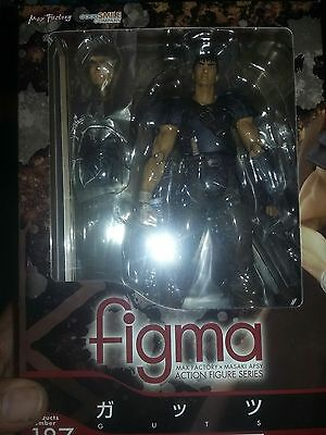 New Figma Berserk Guts Band of the Hawk Ver Max Factory Action Figure In Stock