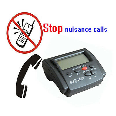 Telephone Incoming Call Blocker with LCD Display 1500 Numbers Large Capacity