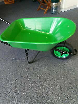 Plastic 85L Wheelbarrows Pink, Green, Lilac, Red