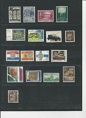 Vatican - Selection Of Used Stamps - #vat4