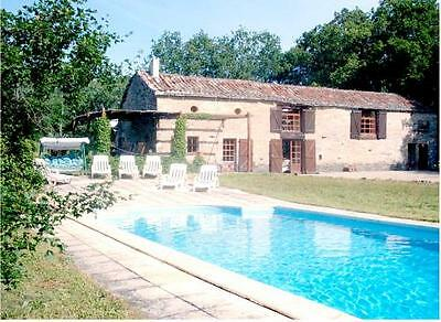 SW France, family villa with private pool. LATE SUMMER 2017 for 9 nights.