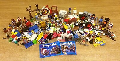 Playmobile Huge Bundle Of Accessories And People