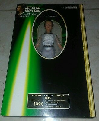 Star Wars Classic Edition Ceremonial Gown 1999 Princess Leia Figure In Box