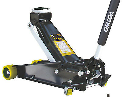 OMEGA 3.2 Ton Trolley Jack Magic Lift - NEW - FREE DELIVERY - 2903701