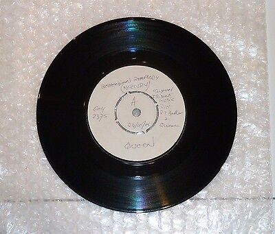 Bohemian Rhapsody Queen 7 Inch White Promo Vinyl. Extremely Rare