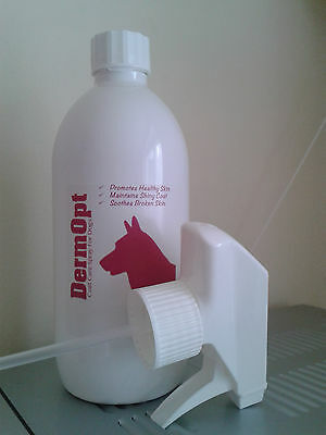 NEW DermOpt Coat Care Spray for Dogs 500ml Healthy Skin Nourishes Hydrates
