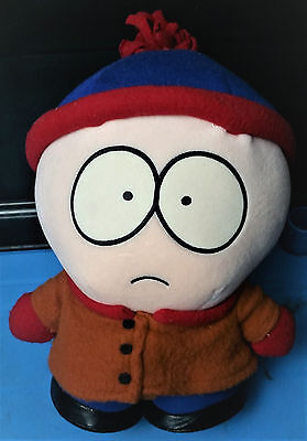 "Comedy Central South Park Stan Plush - 1998 - 10"" - Soft Toy"