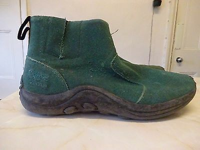 mens suede boots size 10.