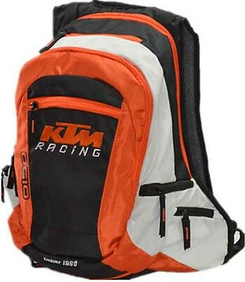 White Racing Ktm Mochila, Backpack Bag, Motorcycle .leer Bien, Read Carefully