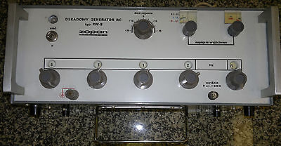 precision (voltage and frequency) pulse generator 1 Hz - 199980 Hz lab equipment
